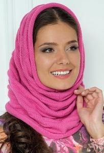 Розовый снуд Landre Катя