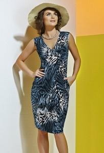 Летнее платье без рукавов TopDesign A4 047