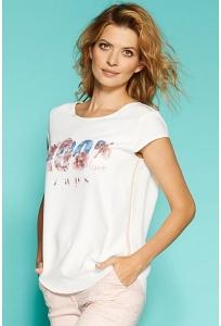 Женская блуза с принтом 100% love Zaps Maurren