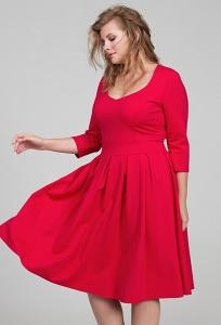 Коктейльное платье большого размера Donna Saggia DSPB-12-65t
