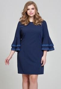 Нарядное платье синего цвета Donna Saggia DSPB-28-62