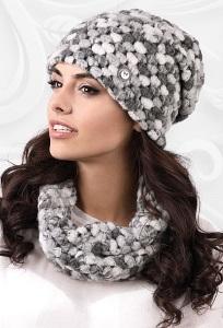 Комплект шапка + снуд Kamea Merano