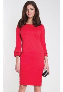 Красное элегантное платье Zaps Sunrisa