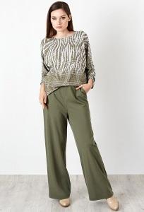 Широкие брюки TopDesign B20004
