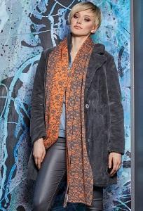 Длинный шикарный шарф Flaibach 023W9