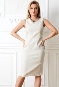 Летнее платье без рукавов TopDesign Premium PA20 15