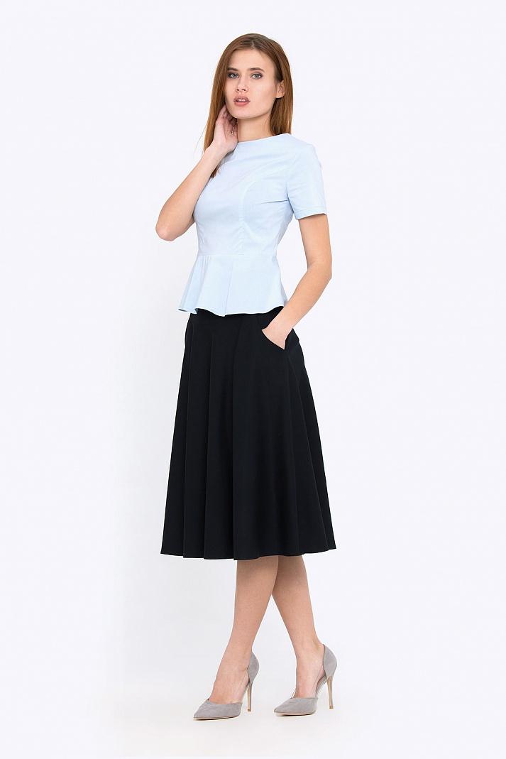 6cade5459a5 Купить расклешенную юбку на кокетке Emka 527 shelbi в интернет ...