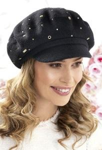 Женское кепи из шерсти Willi Semi