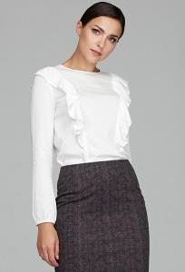 Женская блузка с воланами Donna Saggia DSB-49-12