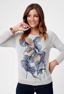Лёгкая трикотажная блузка Sunwear C19-5-10