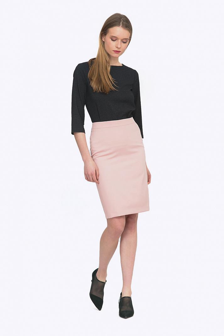 9d4c38007da Розовая женская юбка Emka S773 fussy купить в интернет-магазине
