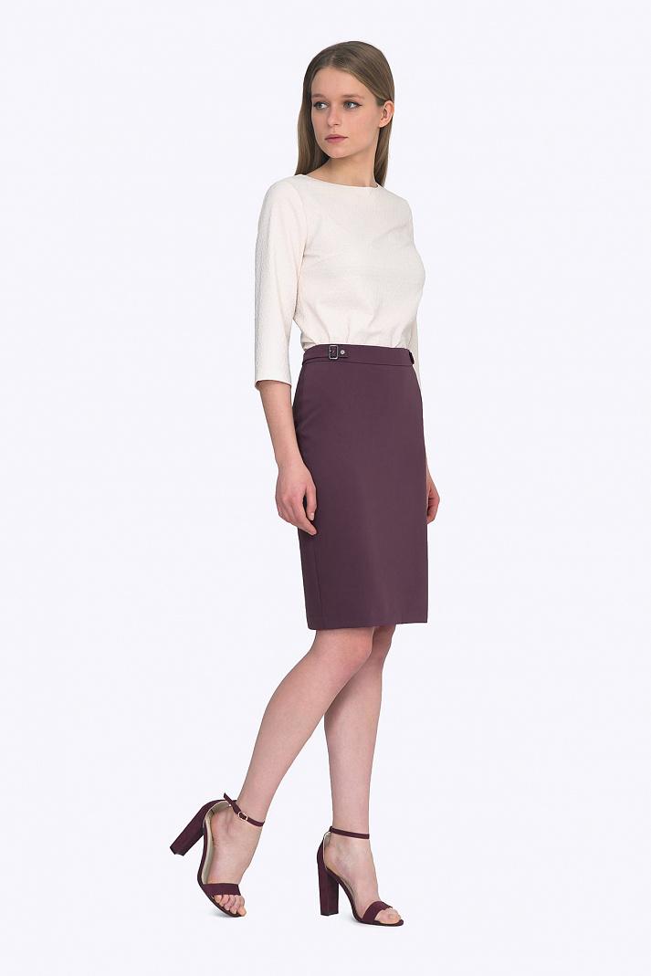 ccb48671340 Купить классическая юбка облегающего силуэта Emka S687 jelly в ...