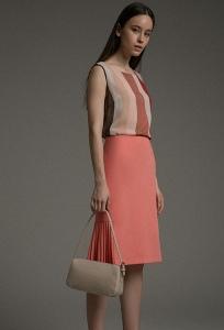 Оригинальная юбка прямого кроя Emka S886/ofelia
