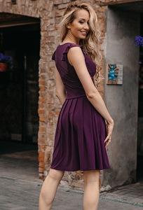 Коктейльное платье из трикотажа Donna Saggia DSP-338-86t