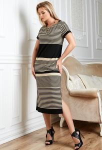 Летнее платье TopDesign Premium PA20 38