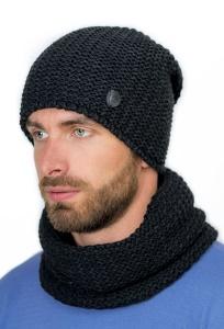 Теплая шапка на флисе с закрепкой сзади Landre Габриэль