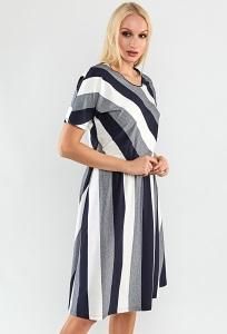Трикотажное платье TopDesign A9 049