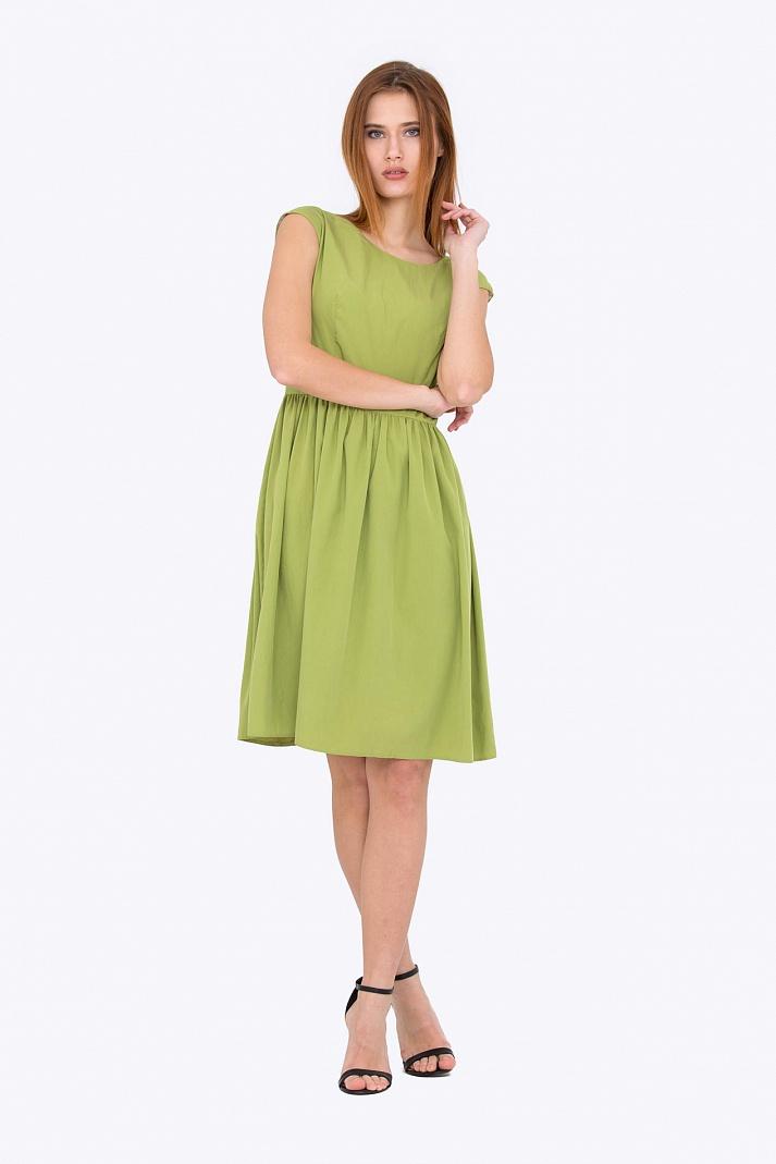 ddcb95c512e Купить летнее платье зеленого цвета Emka Fashion PL-417 meiko в ...