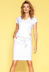 Голубая юбка в белую полоску Zaps Zoila