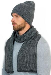 Мужской комплект шапка и шарф Landre Джулиано