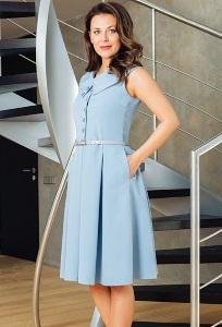 Летнее платье TopDesign Premium PA7 40