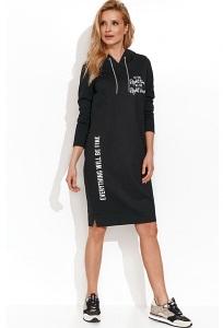 Платье-толстовка в спортивном стиле Zaps Rewa