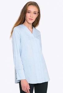 1ab86322b23 Рубашка свободного кроя с V-образным вырезом Emka b 2259 hadiya