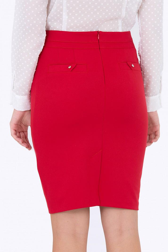 01a1d68b4b97 Купить красную юбку-карандаш Emka Fashion 626-adelina в интернет ...