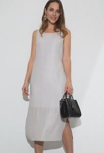 Однотонное платье с разрезами Emka PL1136/ludwig