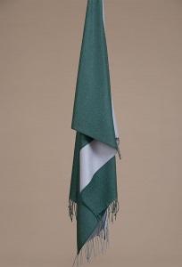 Зелёный палантин Emka A001/SCARF