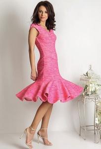 Платье розовое TopDesign Premium PA6 12