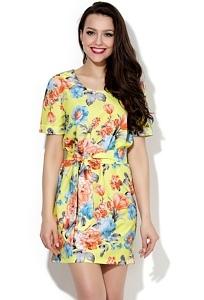 Недорогое летнее платье Donna Saggia DSP-148-37
