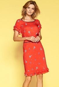 Летняя красная юбка Zaps Majken