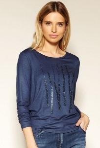 Синяя блузка Zaps Laverne