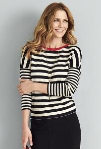 Женская блузка с полоску Sunwear A41-5-23