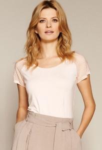 Летняя блузка персикового цвета Zaps Carita