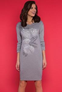 Стильное трикотажное платье Zaps Gerda