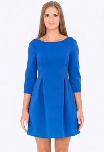 Платье ярко-синего цвета Emka Fashion PL-536/astora