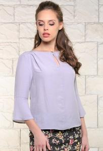 Женская блуза серого цвета Bravissimo 171136 (коллекция 2017)