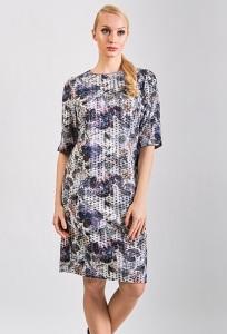 Трикотажное платье TopDesign Premium PB8 01