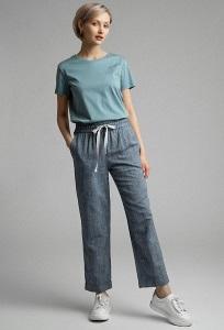 Женские брюки на резинке Emka D184/variant