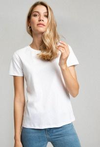 Белая футболка Emka B2579/denver