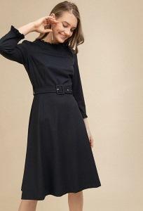 Платье тёмно-синего цвета Emka PL854/lorita
