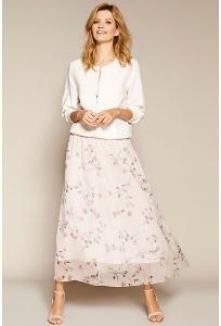 Летняя шифоновая юбка на подкладе Zaps Sigrid