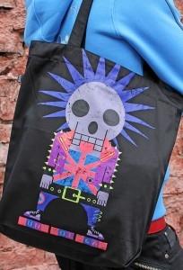 Сумка Punk not dead (Светится в темноте и ультрафиолете)
