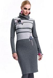 Трикотажное платье Zaps Gisela