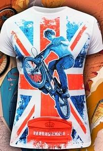 Мужская футболка London Free Ride (Светится в ультрафиолете)