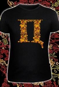 Мужская футболка Пипец (светится в темноте и ультрафиолете)