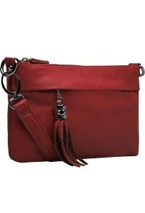 Маленькая сумочка бордового цвета Teendy Bags Message