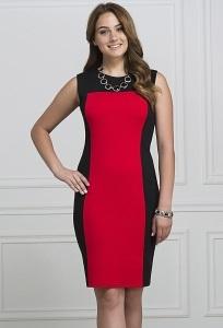 Платье из трикотажа Rosa Blanca 3079
